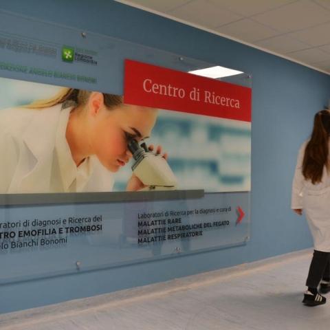 Ecco i nuovi laboratori del Centro Emofilia e Trombosi